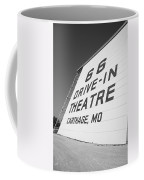 Route 66 Drive-in Theatre Coffee Mug by Frank Romeo