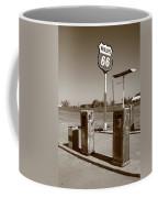 Route 66 Gas Pumps Coffee Mug
