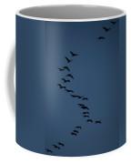 Sandhill Migration Coffee Mug