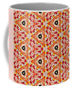 Seamlessly Tiled Kaleidoscopic Mosaic Pattern Coffee Mug