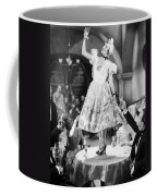 Silent Film Still: Drinking Coffee Mug
