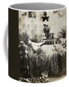 Sleeping Woman, C1900 Coffee Mug