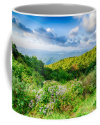 Sunrise Over Blue Ridge Mountains Scenic Overlook  Coffee Mug