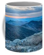 Sunset View Over Blue Ridge Mountains Coffee Mug