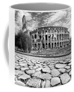 The Majestic Coliseum - Rome Coffee Mug by Luciano Mortula