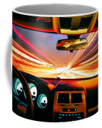 Traveling At Speed Of Light Coffee Mug