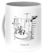The Strings Are Catgut Coffee Mug