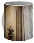 6 With Doorknocker Coffee Mug