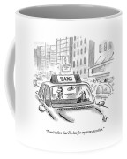 I Can't Belive That I'm Late For My Own Execution Coffee Mug