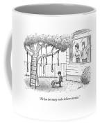 He Has Too Many Make-believe Enemies Coffee Mug