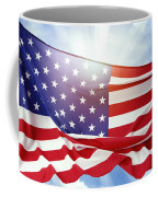American Flag 55 Coffee Mug
