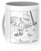 A Wisconsin Cheesescape Coffee Mug