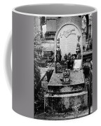 Pere-lachais Cemetery In Paris France Coffee Mug