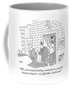 Well, Excuse Me For Providing A Sweatshop Coffee Mug