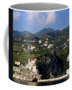 Views From The Amalfi Coast In Italy Coffee Mug