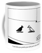 I Can't Believe You Symbolize Peace When You're Coffee Mug