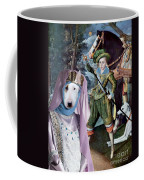 Bull Terrier Art Canvas Print Coffee Mug