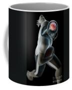 American Football Player Coffee Mug