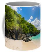 Beautiful Caribbean Beach Coffee Mug