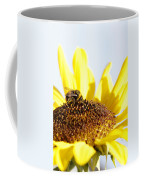 Bee On Flower Coffee Mug