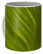 Calla Lily Stem Close Up Coffee Mug