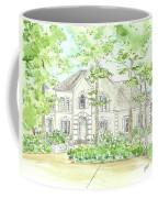 Custom House Portrait  Or Rendering Sample Coffee Mug
