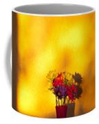 Daisies In A Vase On Shelf Coffee Mug