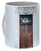 Distinctive Doors In Madrid Spain Coffee Mug