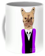 French Bulldog Painting Coffee Mug