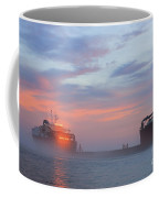 Ghost Ship Glowing Coffee Mug