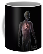 Heart Within The Chest Coffee Mug
