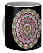 Kaleidoscope Colorful Jeweled Rhinestones Coffee Mug