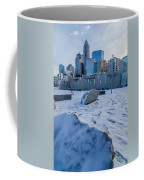 Rare Winter Scenery Around Charlotte North Carolina Coffee Mug