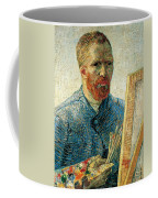 Self Portrait Coffee Mug by Vincent van Gogh