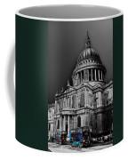 St Pauls Cathedral London Art Coffee Mug by David Pyatt
