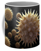 Sunflower Pollen Coffee Mug