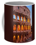 The Majestic Coliseum - Rome Coffee Mug