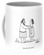 Stop Me Before I Invent Plaid! Coffee Mug
