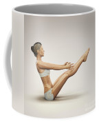 Yoga Boat Pose Coffee Mug