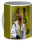 Yorkshire Terrier Art Canvas Print Coffee Mug