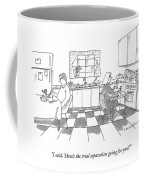 I Said, 'how's The Trial Separation Going Coffee Mug