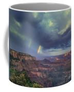 749220049 Double Rainbow Cape Royal North Rim Grand Canyon National Park Coffee Mug