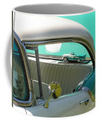 #766 D86 Mini Holiday Oldsmobile Antique Cars  Coffee Mug