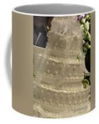 #775 D138 Cake All White  Coffee Mug