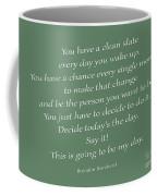 79- Brendon Burchard  Coffee Mug