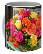 #790 D300 Roses Super Bright Coffee Mug