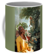 Irish Setter Art Canvas Print Coffee Mug