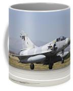 A Qatar Emiri Air Force Mirage Coffee Mug