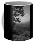 Blue Ridge Mountains - Virginia Bw Coffee Mug