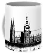 Cathedral Of St Vitus Coffee Mug